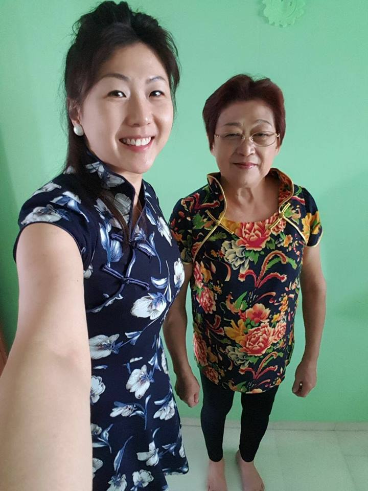 Sewing Classes Singapore - Cheongsam Sheila